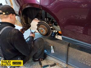 Замена тормозных колодок в Бобруйске
